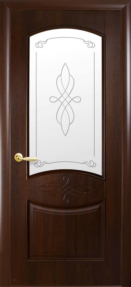 Двери Новый стиль Донна Р1 Каштан