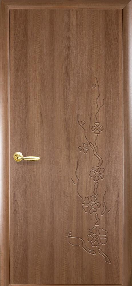 Двери Новый стиль Сакура ПГ Золотая ольха
