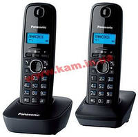 Радиотелефон Panasonic DECT KX-TG1612UAH Black Grey (KX-TG1612UAH)