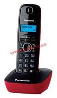 Радиотелефон Panasonic DECT KX-TG1611UAR Black Red
