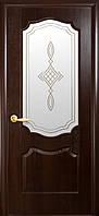 Двери межкомнатные Новый стиль Вензель Каштан ПО+Р1