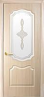 Двери межкомнатные Новый стиль Вензель Ясень ПО+Р1