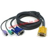 ATEN KVM Cable 2L-5203P 3m Кабель KVM 3m SPHD-15 m (2L-5203P)