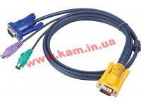 ATEN KVM Cable 2L-5202P 1,8m Кабель KVM 1.8m SPHD (2L-5202P)