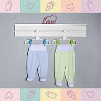 Ползунки-Штанишки для Мальчика, от 0-5 месяцев,новорожденным,Хлопок-Ажур летний,0560Kay В наличии 56,62,68Рост