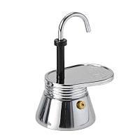 Гейзерная кофеварка GSI Outdoors 1 Cup Stainless Mini Expresso на одну чашку двойного эспрессо