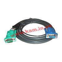 ATEN KVM Cable 2L-5202U 1,8m Кабель KVM 1.8m SPHD-15 (2L-5202U)