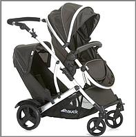 Детская прогулочная коляска для двойни Hauck Duett 2