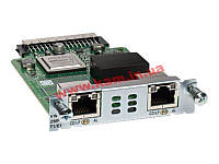 2-Port 3rd Gen Multiflex Trunk Voice/ WAN Int. Card - T1/ E1 (VWIC3-2MFT-T1/E1=)