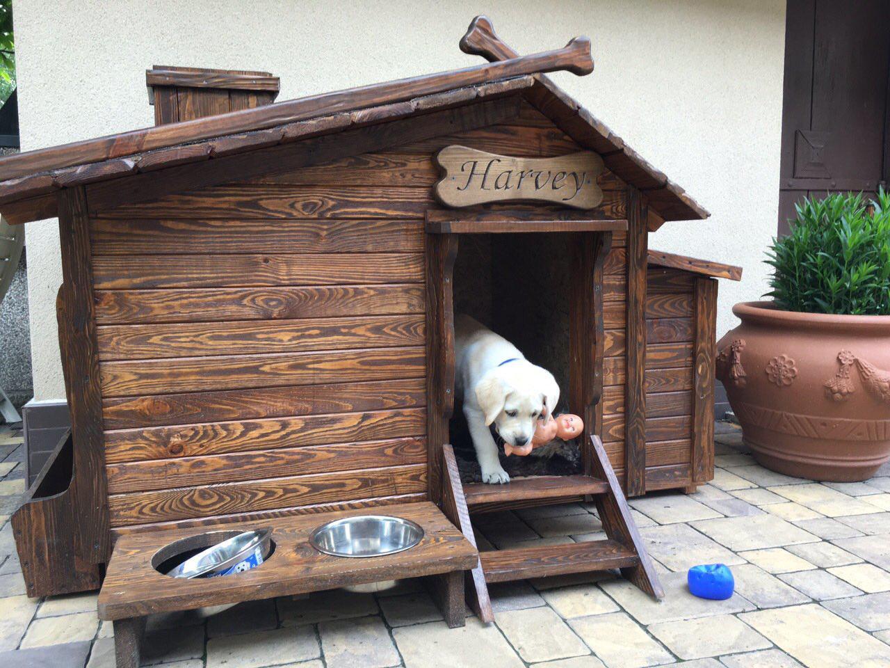 "Будка деревянная для собаки ""Харви"""