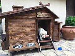 Будка деревянная для собаки