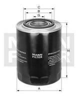 Фильтр масляный Mann WP 1144