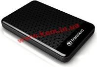 """Жесткий диск внешний TRANSCEND StoreJet 25 A3 (2.5"""", 500ГБ, USB 3.0) Черный (TS500GSJ25A3K)"""