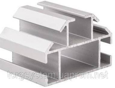Алюминиевый торговый профиль 2633 стойка для витрин