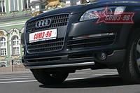 Защита переднего бампера AUDI Q7 2008+
