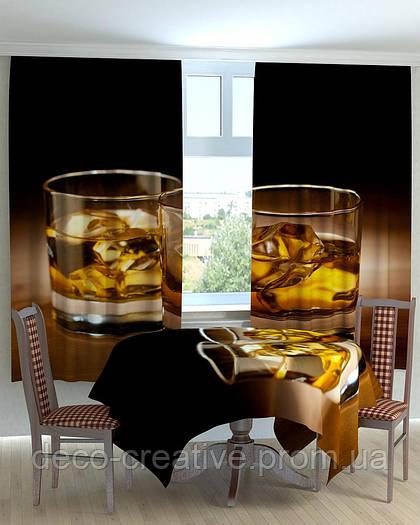 Фотошторы скатерть на кухню виски