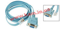 Console Cable 6ft with RJ45 and DB9F (CAB-CONSOLE-RJ45=)