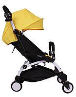 Прогулочная коляска YOYA желтая