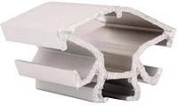 Профиль алюминиевый торговый 3084 для витрин