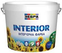 Краска акриловая интерьерная INTERIOR Зебра