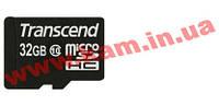 Карта памяти Transcend 32 GB microSDHC class 10 TS32GUSDC10 (TS32GUSDC10)