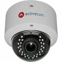 Купольная антивандальная IP-камера ActiveCAM AC-D3143VIR2, 4 Mpix