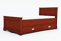 """Кровать """"Ариэль"""" с ящиками  массив дерева 2, 24, 200.0, 190.0, Да, 1, 250, Нет, Да, Да, Да, Украина, Бук натуральный, 80.0, +1000 грн. к цене"""