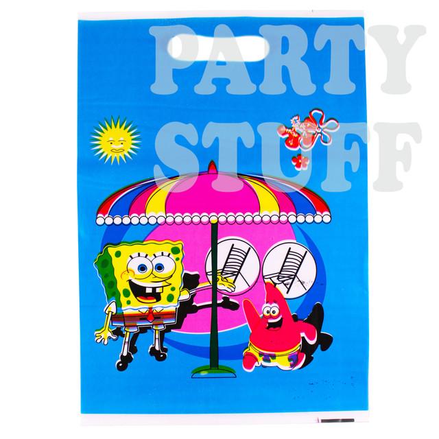 пакет детский Спанч Боб