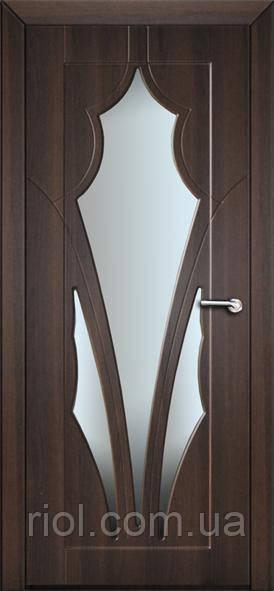 Дверь межкомнатная остекленная Афина