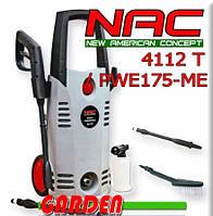 Мойка высокого давления NAC 4112T/PWE175-ME