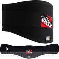 Пояс для тяжелой атлетики RDX Black-L