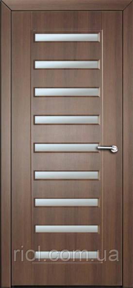 Дверь межкомнатная остекленная Аврора