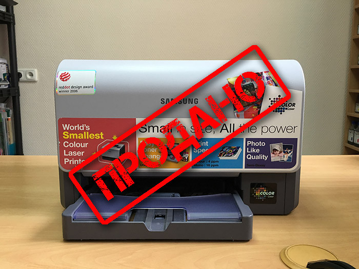 Принтер Samsung CLP-300