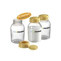 Бутылочки Medela для сбора и хранения грудного молока (Breastmilk bottles), 3 шт о 150 ml