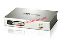 Конвертор USB в 2xRS-232 порта (Вход: 1x USB Type B Female, Выход: 2x DB-9 Male), ATEN. (UC-2322)