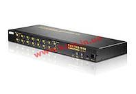 16-портовый Видео переключатель с поддержкой звука, электронный, 16 входов на 1 выход, Ко (VS-1601C)