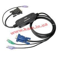 Адаптер с кабелями для подключения SUN FIRE к КВМ через 15-пиновый специальный и компактны (CV-131A)