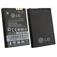 Аккумулятор LG LGIP-520N, BL40 New Chocolate, 1000 mAh, Original /АКБ/Батарея/Батарейка /лж