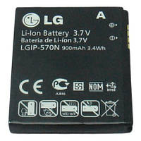 Аккумулятор LGIP-570N, BL20, GD310, GD710, GM310, KV600, Original, 900mAh /АКБ/Батарея/Батарейка /лж