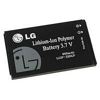 Аккумулятор LG KF300, LGIP-330GP, 800 mAh, Original /АКБ/Батарея/Батарейка /лж