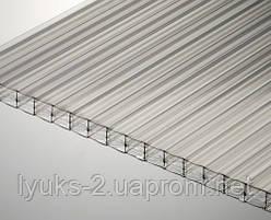 Сотовый поликарбонат  Vizor (Визор) 4 мм прозрачный