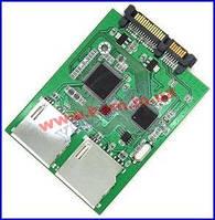 Считывающее устройство Value SATA 22p->CardReader, 2xSD, HQ (62.01.3134-5)