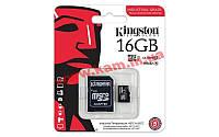 Карта памяти Kingston 16GB microSDHC C10 UHS-I R90/ W45MB/ s Industrial (SDCIT/16GB)