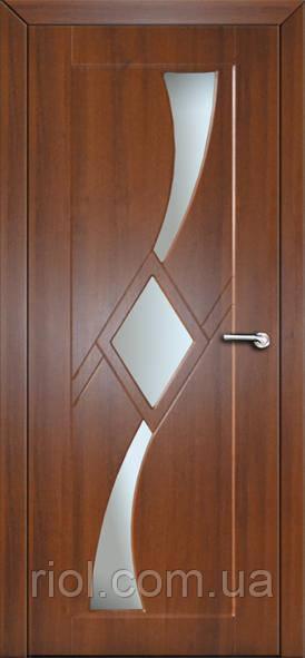 Дверь межкомнатная остекленная Сириус