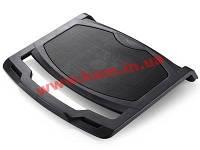 """Подставка кулер для ноутбуков до 15,6"""" Deepcool, металл. решётка 1х14см вентилятор, 1000 об, (N400)"""