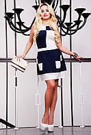 Платье молодежное -принт шахматка, фото 1