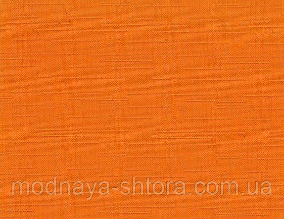 """Тканевые рулонные шторы """"Oasis"""" лен (джаффа), РАЗМЕР 45х170 см"""