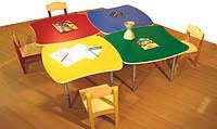 Детские столики Сирень 600-600