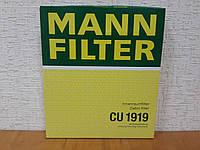 Фильтр салона Toyota Camry V40 2006-->2011 Mann (Германия) CU 1919