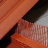 Гребень свеса с вентиляционной решеткой, цвет терракот Wabis Польша